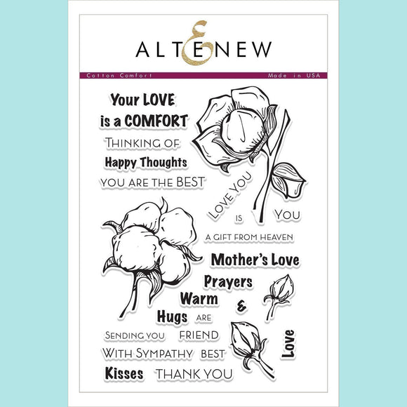 Altenew - Cotton Comfort Stamp and Die