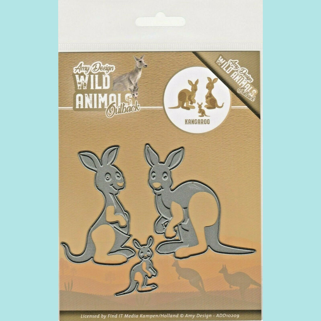 Couture Creations - Amy Design - Wild Animals Outback Kangoroo Dies