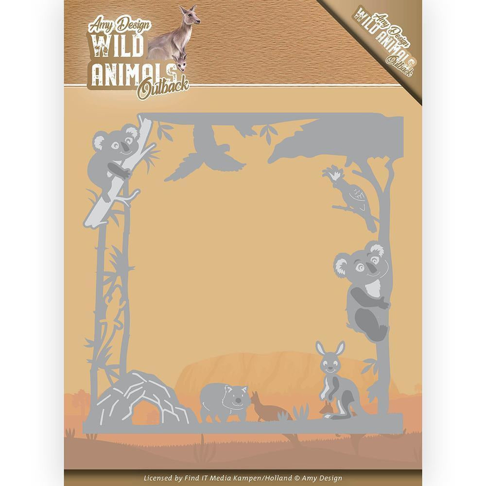 Couture Creations - Amy Design - Wild Animals Outback Koala Frame Dies