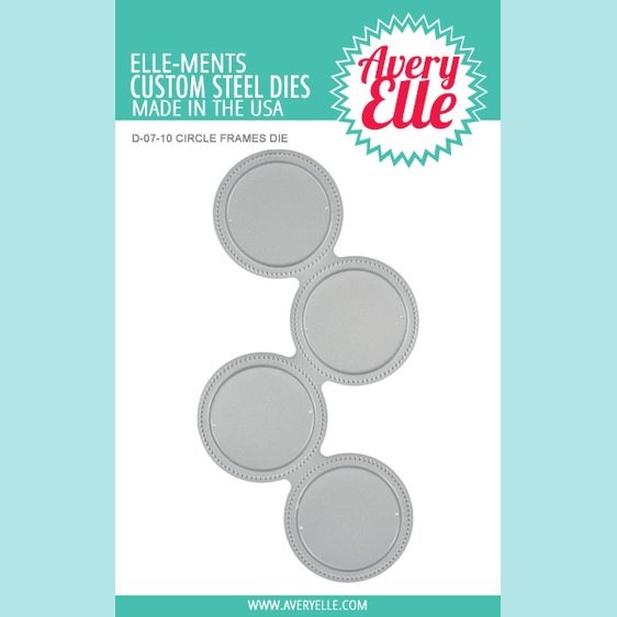 Avery Elle Circle Frames Elle-ments Die