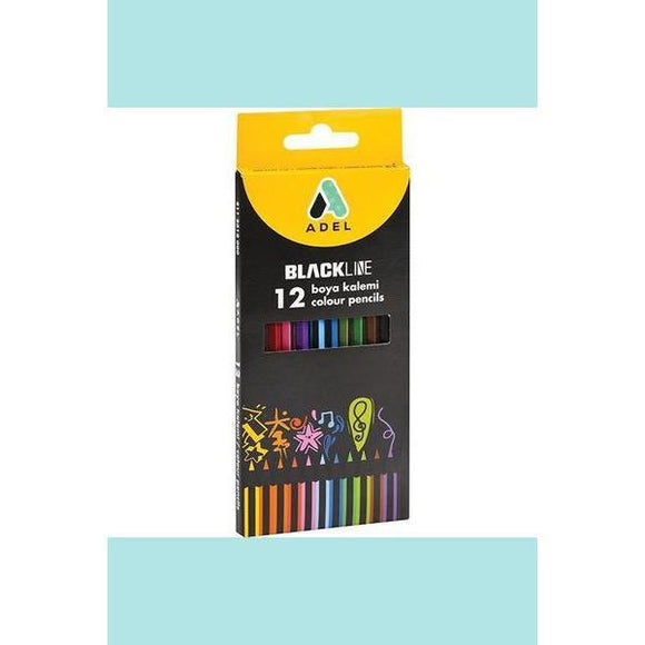 Adel Blackline Pencils 12 Set