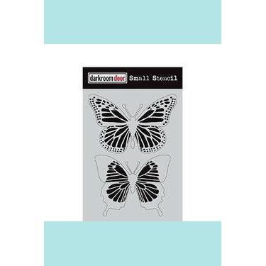 Darkroom door Small Stencil Collection - Butterflies