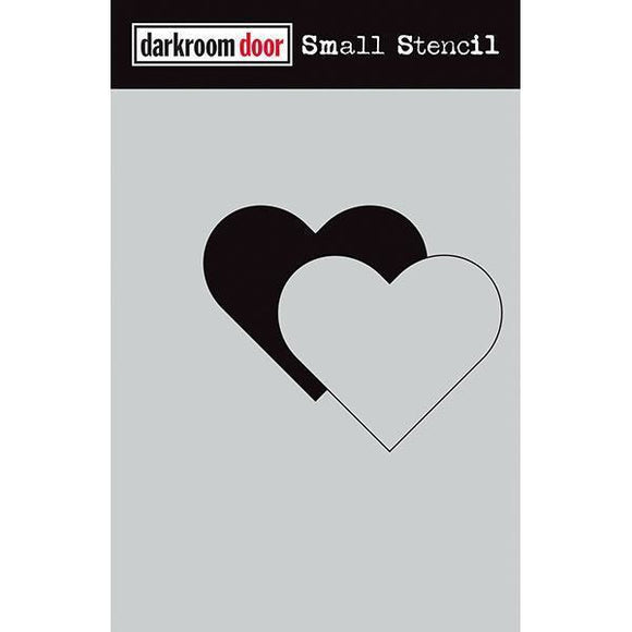 Darkroom Door - Small Stencil - Heart Set