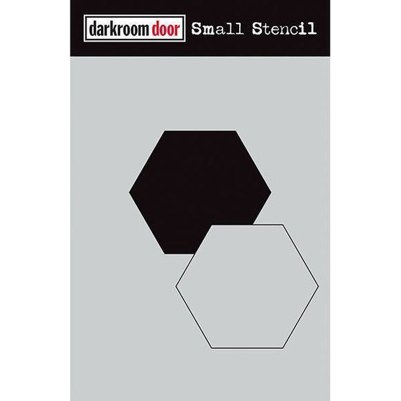 Darkroom Door - Small Stencil - Hexagon Set