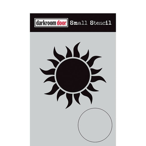 Darkroom Door - Small Stencil - Sun