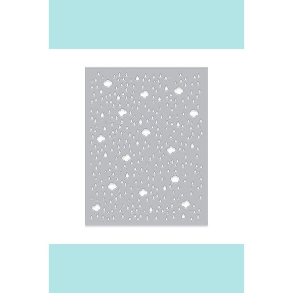 Cloud & Raindrop Confetti Fancy Die