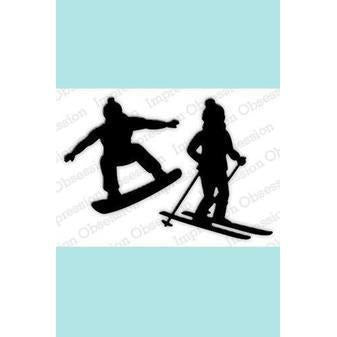 Impression Obsession Skier & Snowboarder