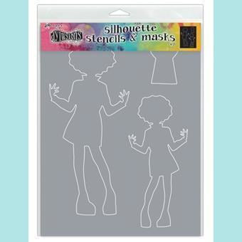 Ranger - Dylusions Stencils Large Silhouettes - Maisie