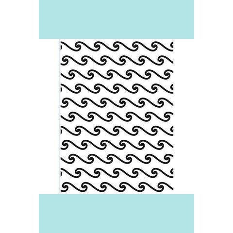 Darice® Embossing Folder - Beach Wave - 4.5 x 5.75