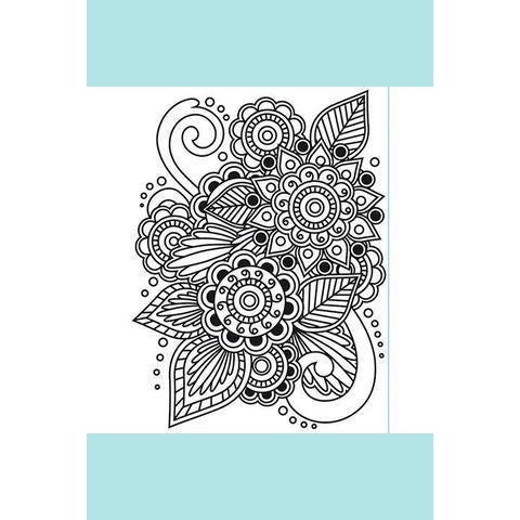 Darice® Embossing Folder - Henna - 4.5 x 5.75
