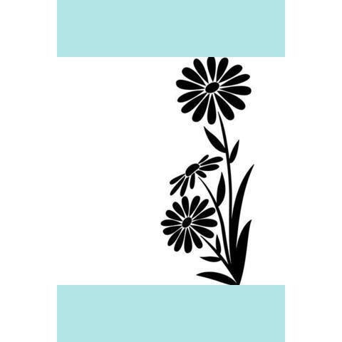 Darice® Embossing Folder - Large Daisy - 4.25 x 5.75