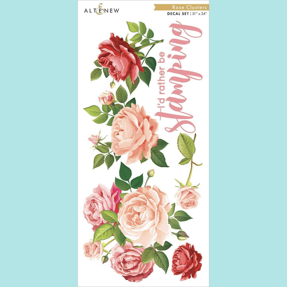 Altenew - Rose Clusters Decal Set