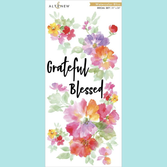 Altenew - Watercolor Bliss Decal Set