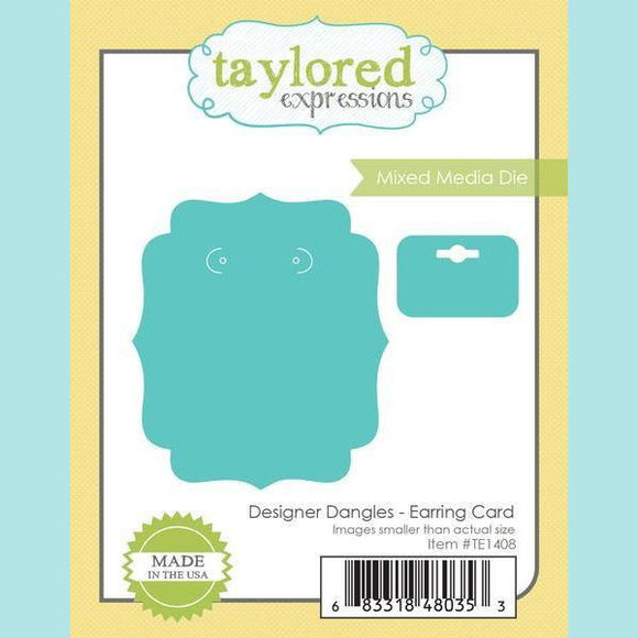 Taylored Expressions - Designer Dangles - Earring Card Die