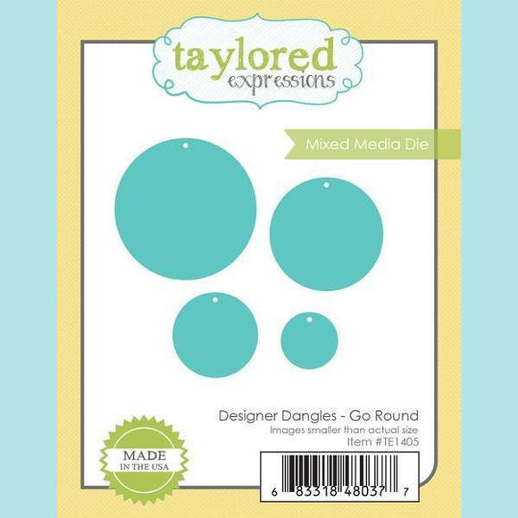 Taylored Expressions - Designer Dangles - Go Round Dies