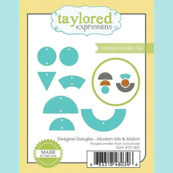 Taylored Expressions - Designer Dangles - Modern Mix & Match Dies