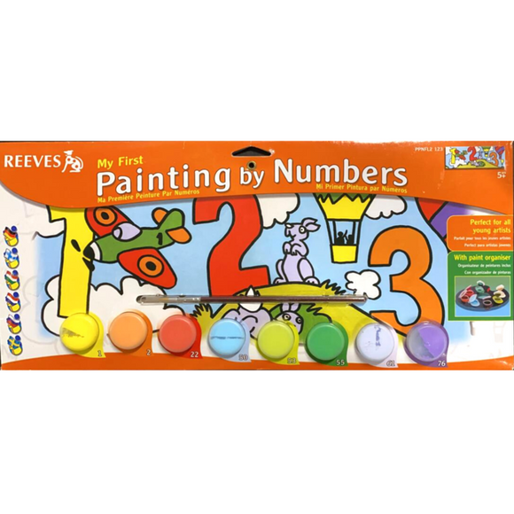 Reeves Painting By Numbers -123 - Medium