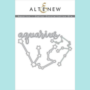 Altenew - Aquarius - Zodiac Constellation Die