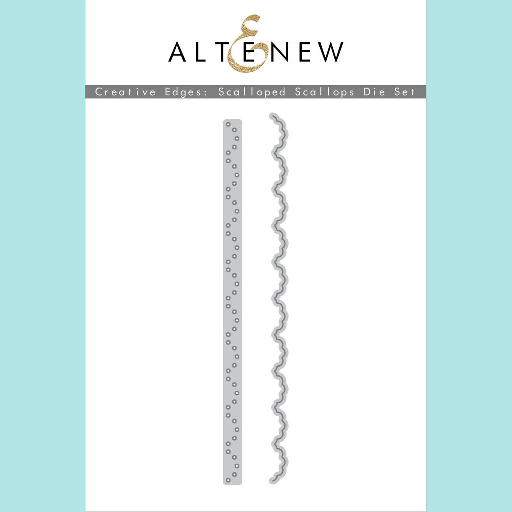 Altenew - Creative Edges : Scalloped Scallops Die Set