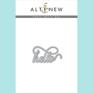 Altenew - Fancy Hello Die