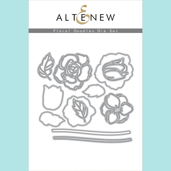 Altenew - Floral Doodles Die Set