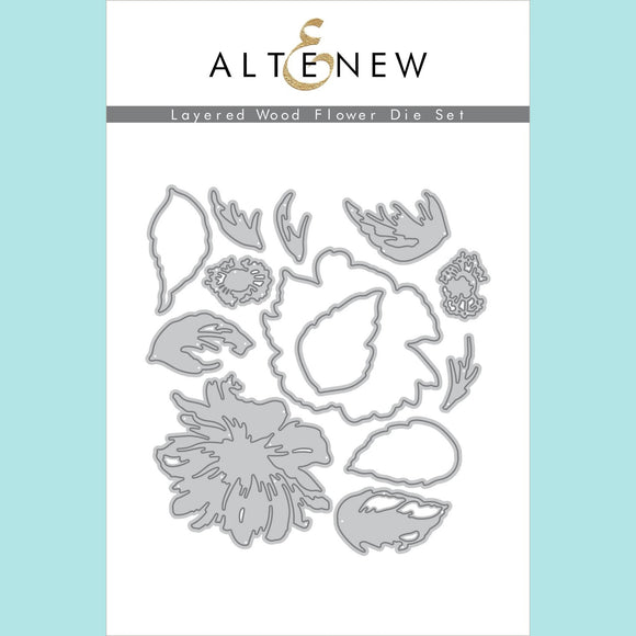 Altenew - Layered Wood Flower Die Set