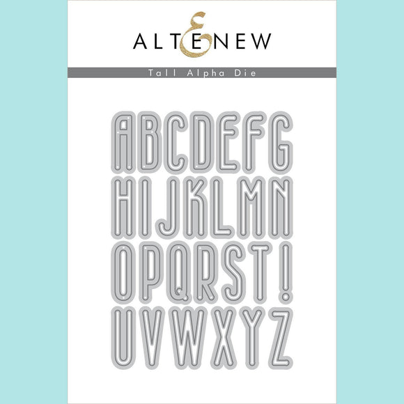 Altenew - Tall Alpha Die Set
