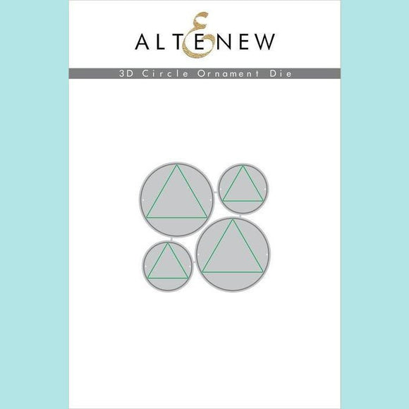 Altenew - 3D Circle Ornament Die Set