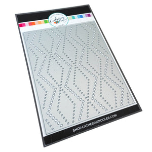 Catherine Pooler - Dotted Zig Zag Cover Plate Die