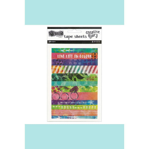 Dyan Reaveleys Dylusions Creative Dyary Tape Strips