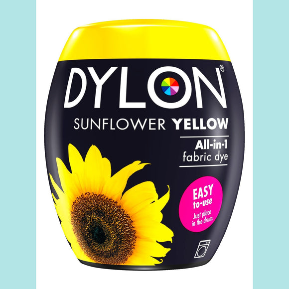 Dylon - Machine Dye Pods SUNFLOWER YELLOW