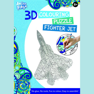 Anker Play - 3D Colouring Puzzle - Fighter Jet