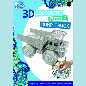 Anker Play - 3D Colouring Puzzle - Dump Truck