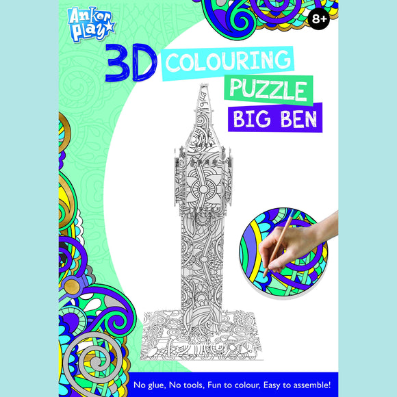 Anker Play - 3D Colouring Puzzle - Big Ben