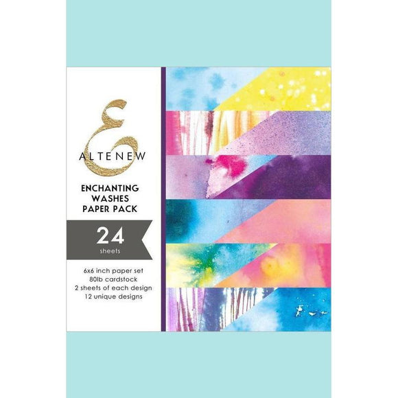 Altenew - Enchanting Washes 6x6 Paper Pack