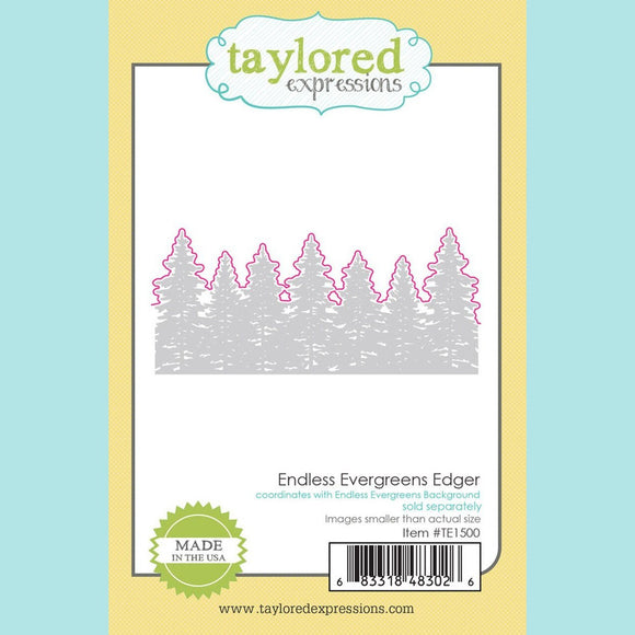 Taylored Expressions - Endless Evergreens Edger Die