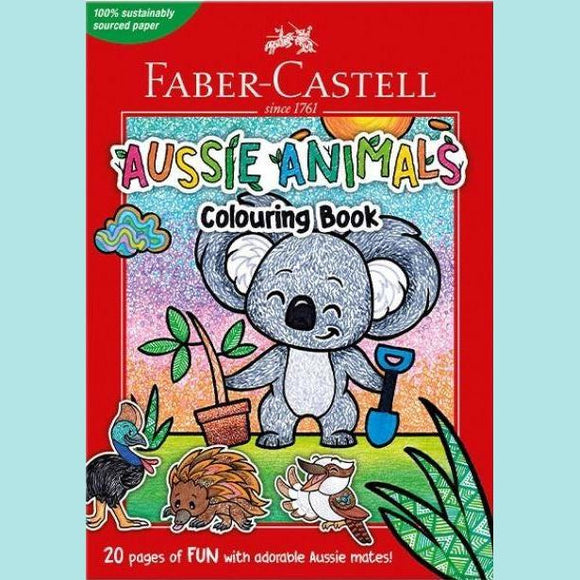 Faber - Castell Colouring Book - Aussie Animals