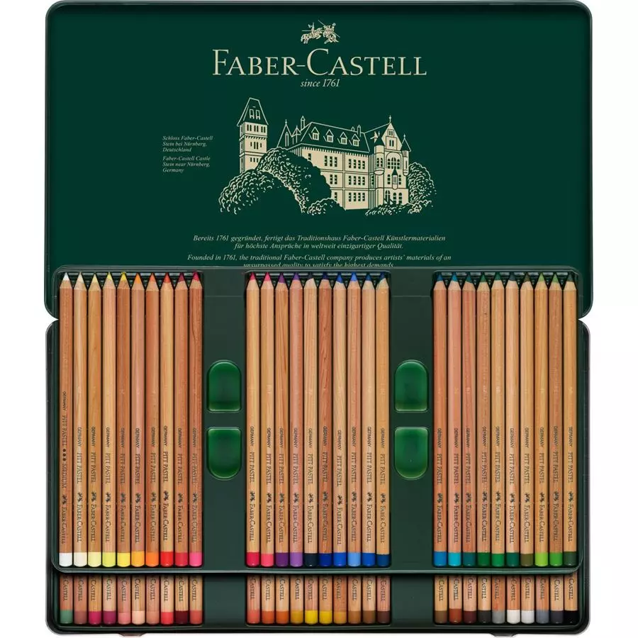 fabercastell  pitt pastel pencil sets  arts and crafts