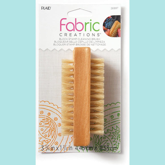 Fabric Creations - Block Stamp Cleaning Brush