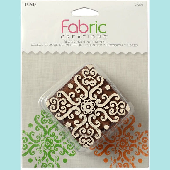 Fabric Cretions - Block Printing Stamps