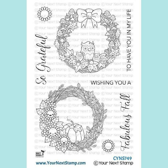 Your Next Stamp - Fabulous Fall Wreaths Stamps