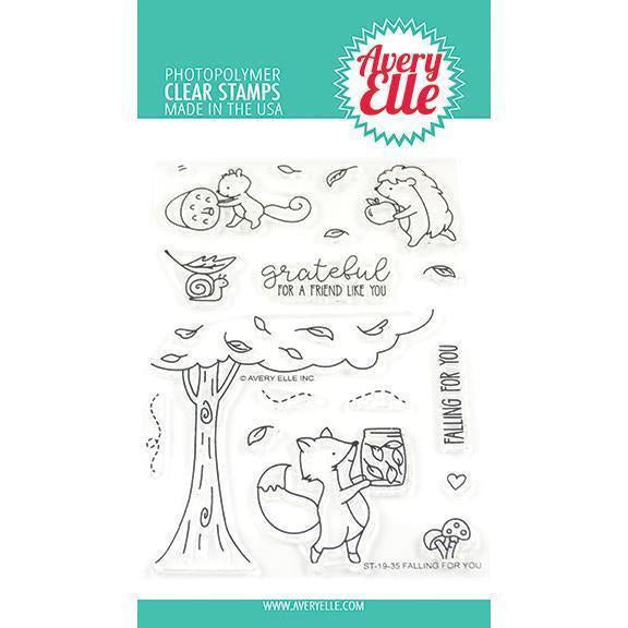 Avery Elle - Fall Foliage Clear Stamps and Dies