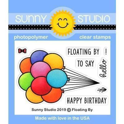 Sunny Studio Stamps - Floating By Stamps and Dies