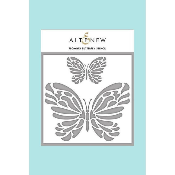 Altenew - Flowing Butterfly Stencil