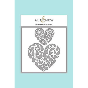 Altenew - Flowing Hearts Stencil