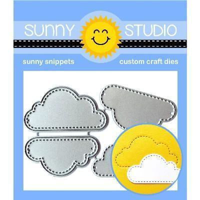 Sunny Studio Stamps - Fluffy Clouds Dies