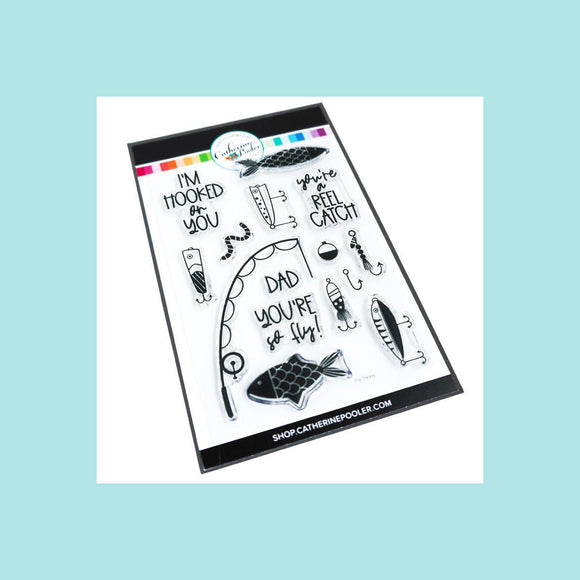 Catherine Pooler - Fly Daddy Stamp Set