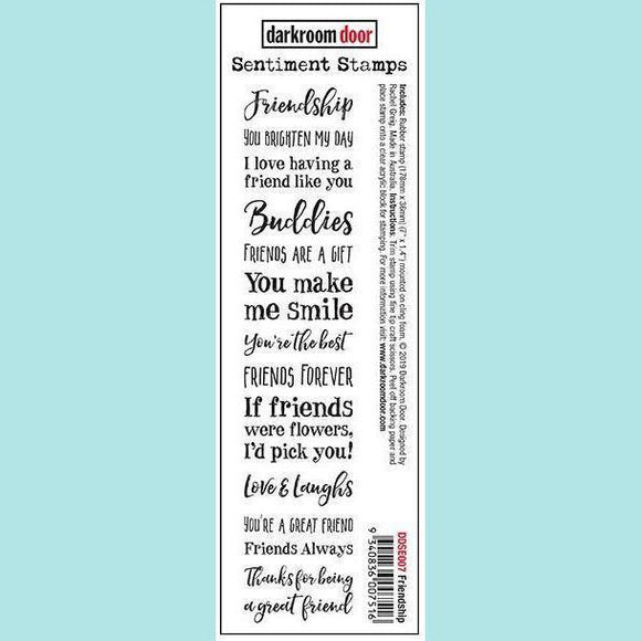 Darkroom Door - Sentiment Stamps - Friendship