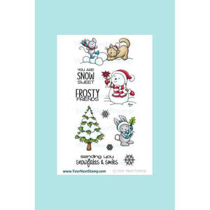 Your Next Stamp Frosty Friends Stamp