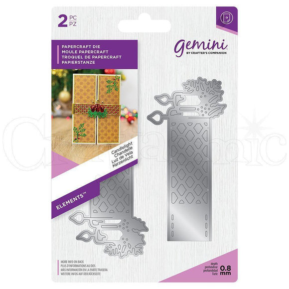 Crafter's Companion - Gemini Elements - Wrap Dies - Candlelight